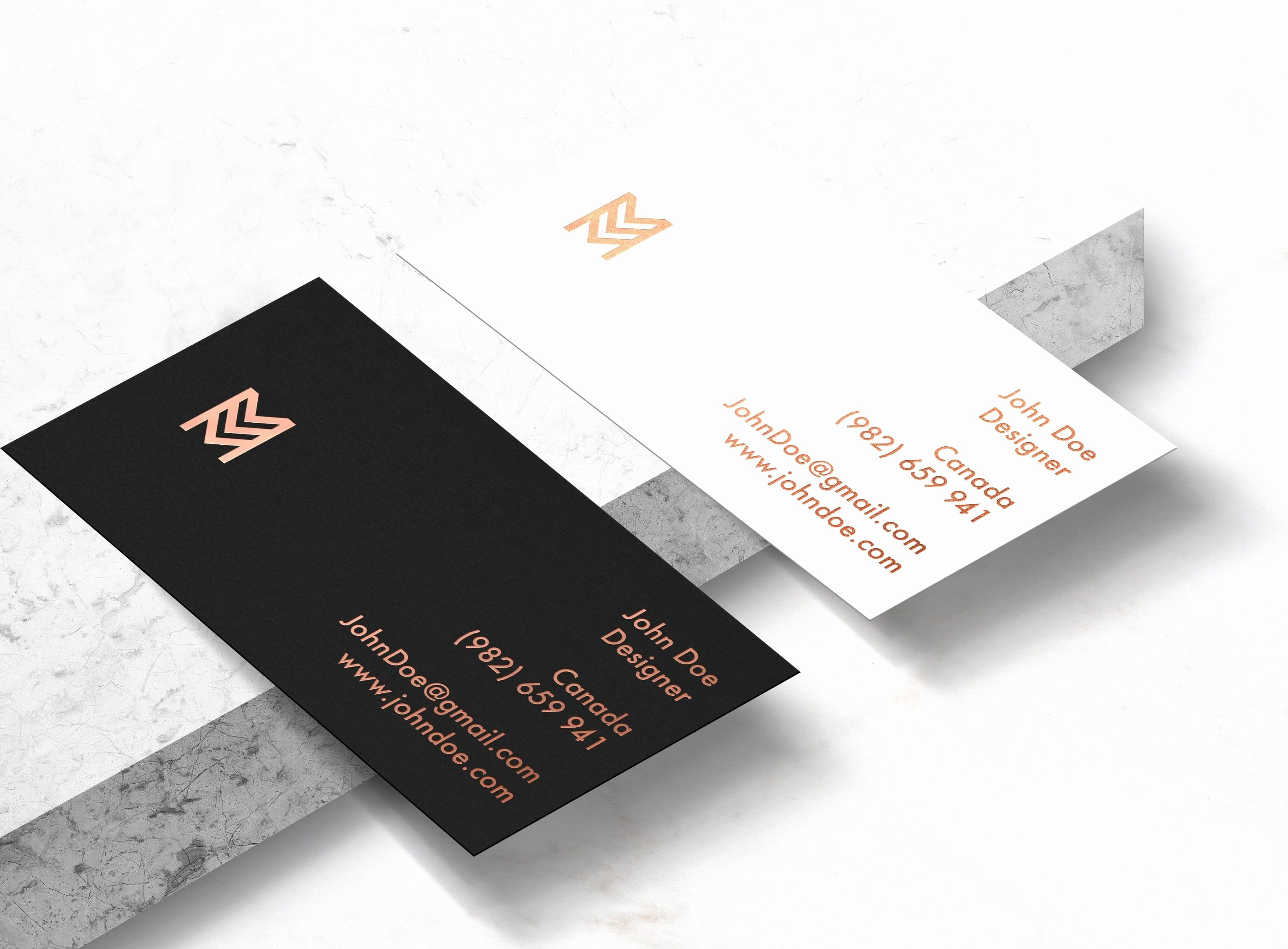 Fold Over Business Card Template Choice Image Template