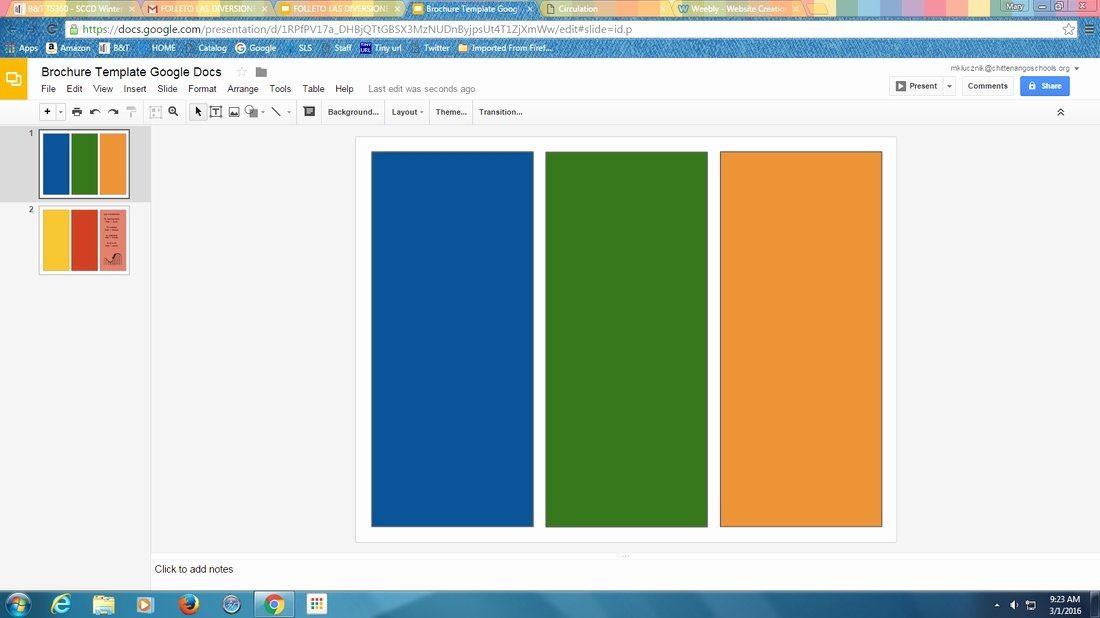 Foldable Brochure Template Google Docs Brochure Templates