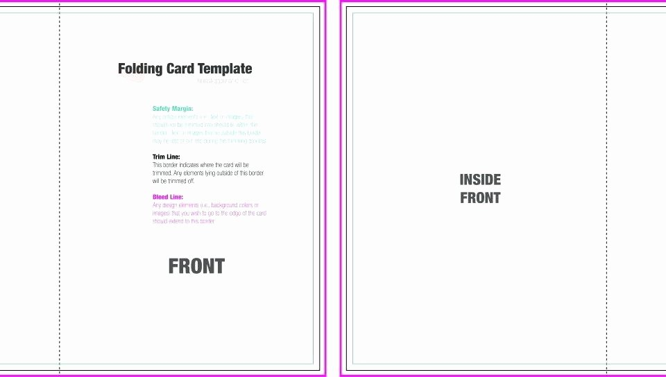 Foldable Card Template Word – Spitznasfo