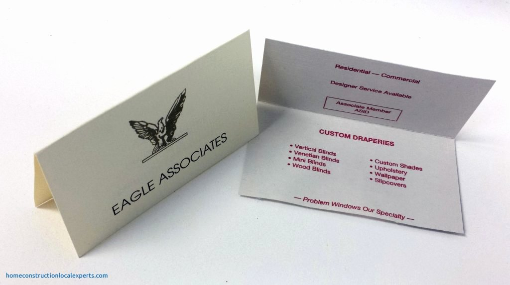 Folded Business Card Template Blogihrvati