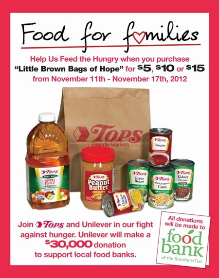 Food Bank Flyer Templates Drive Fly with
