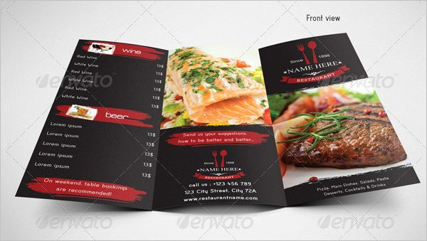 Food Menu Template 36 Free Word Pdf Psd Eps