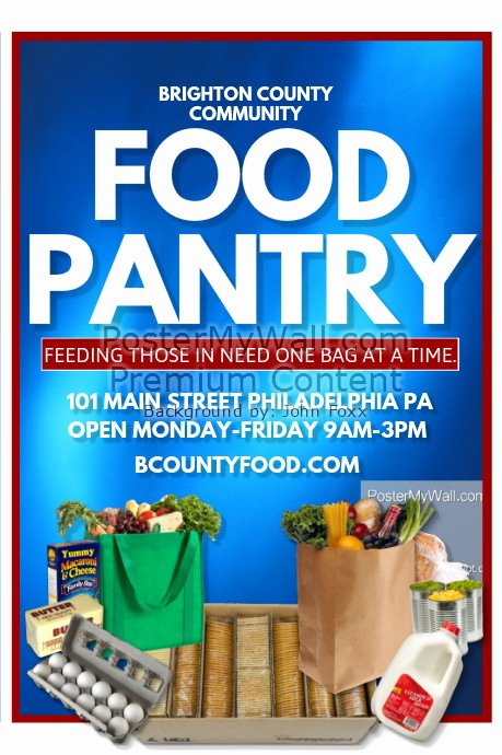 Food Pantry Template