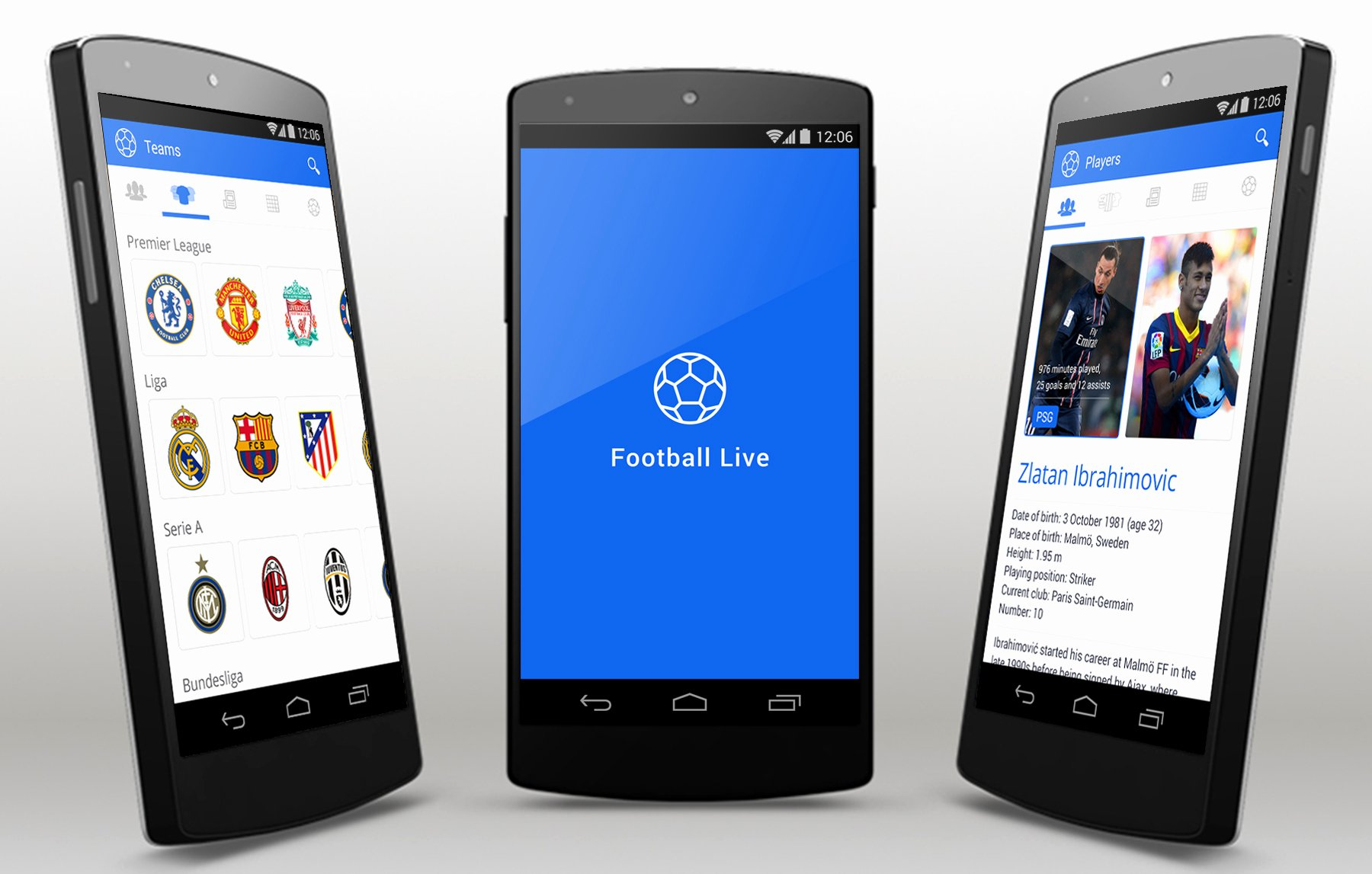 Football Live android App Template