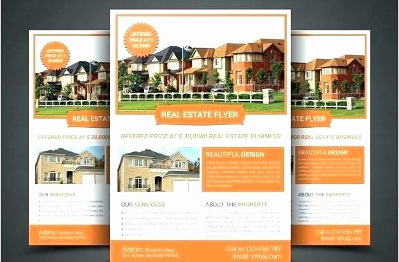 For Sale by Owner Brochure Template Free Ms Word Real