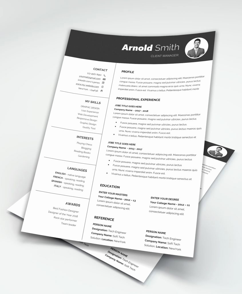 Forever Free Resume Templates Downloadable Maxresumes