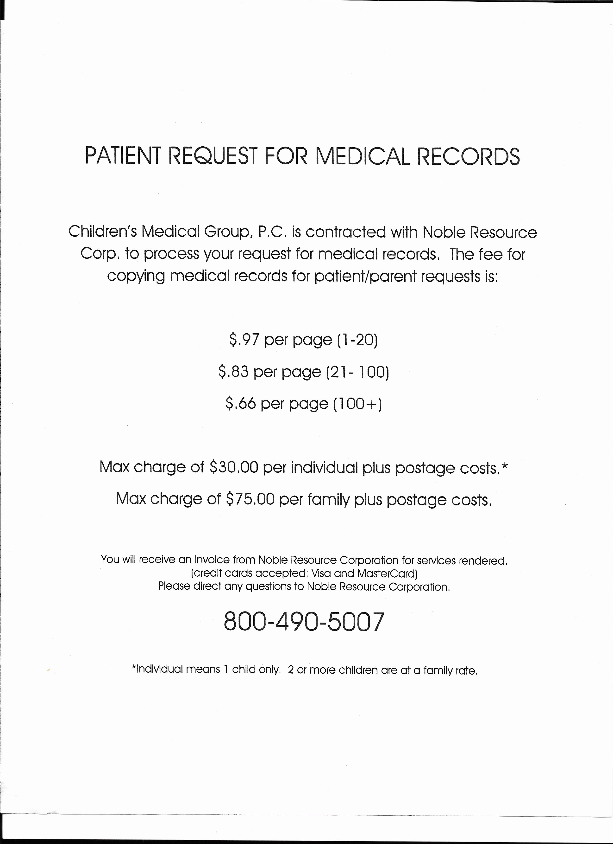 Form Free Printable Medical Records Request form Medical