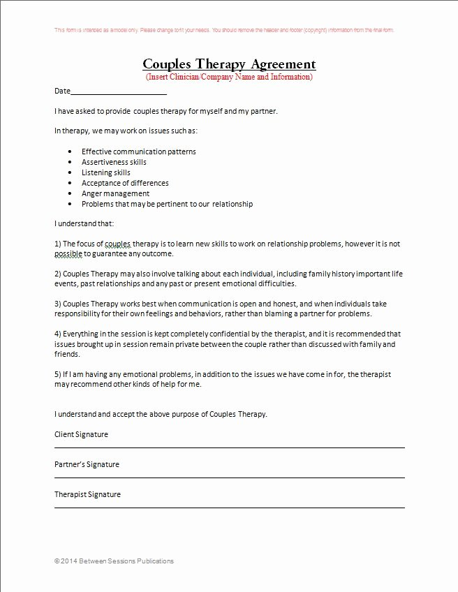 Form New Confidentiality Agreement form for Counseling