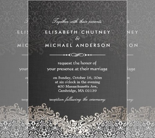 Formal Invitation Template Fre Staruptalent