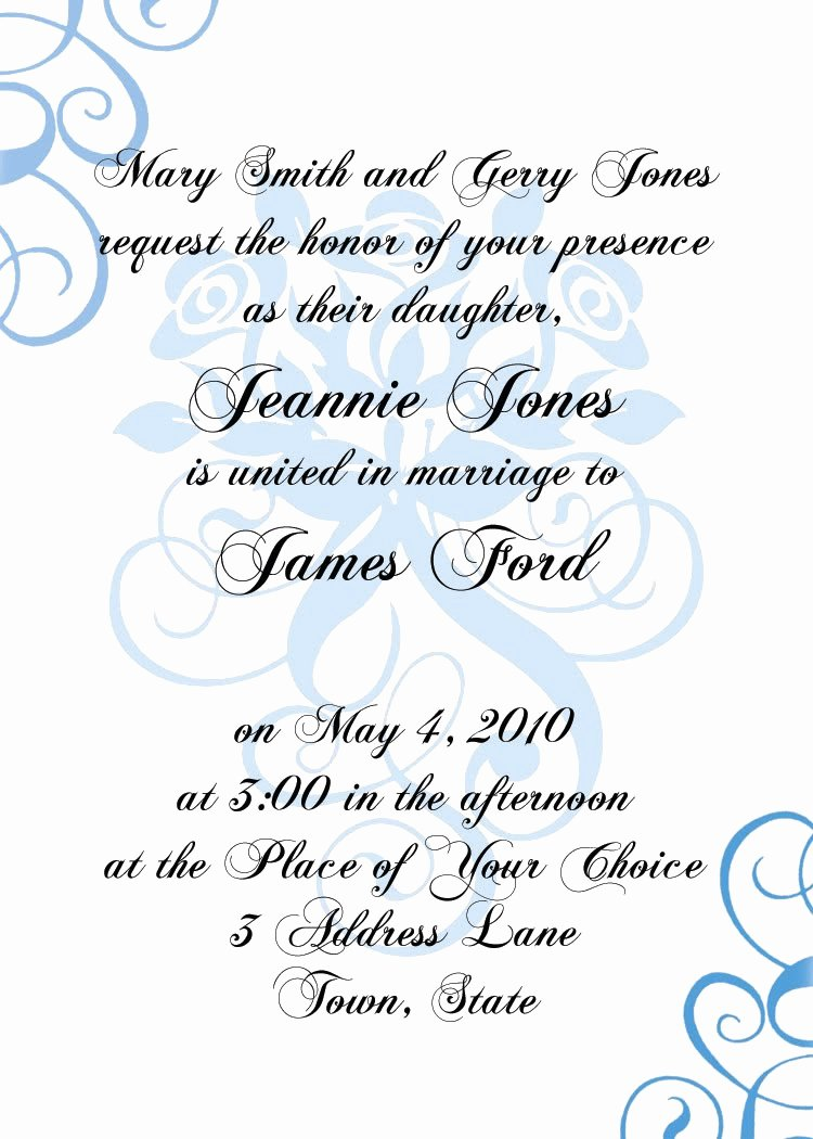 Formal Invitation Templates Invitation Template