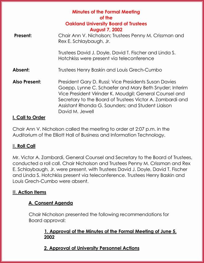 Formal Meeting Agenda Template 12 Best Samples for Word