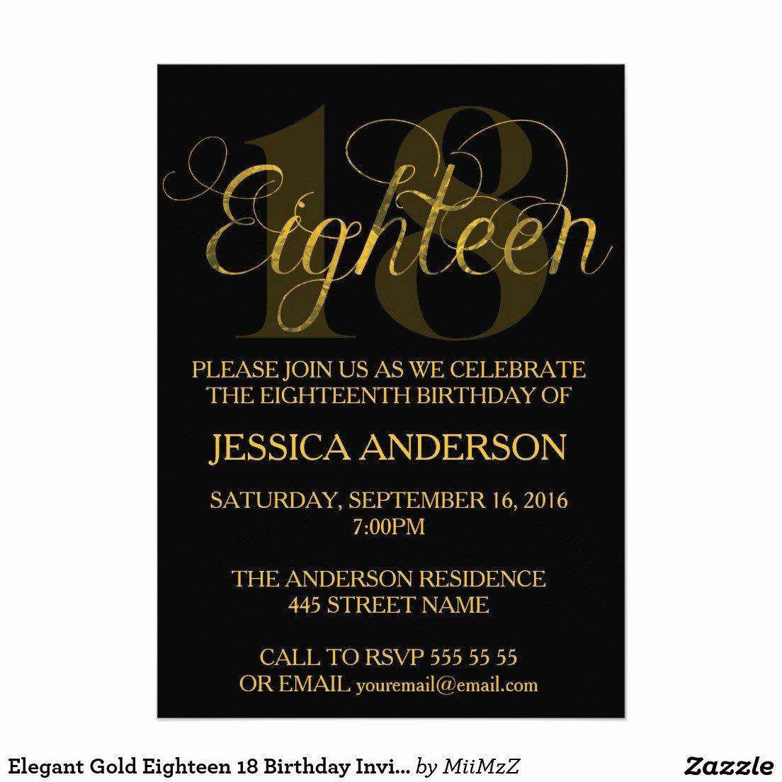 Free 18th Birthday Invitations Wording – Free Printable