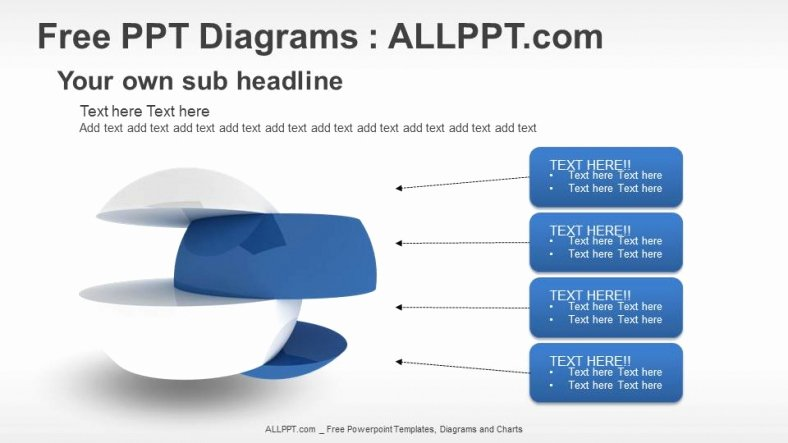 Free 3d Divided Graphic Ppt Diagrams Download Free