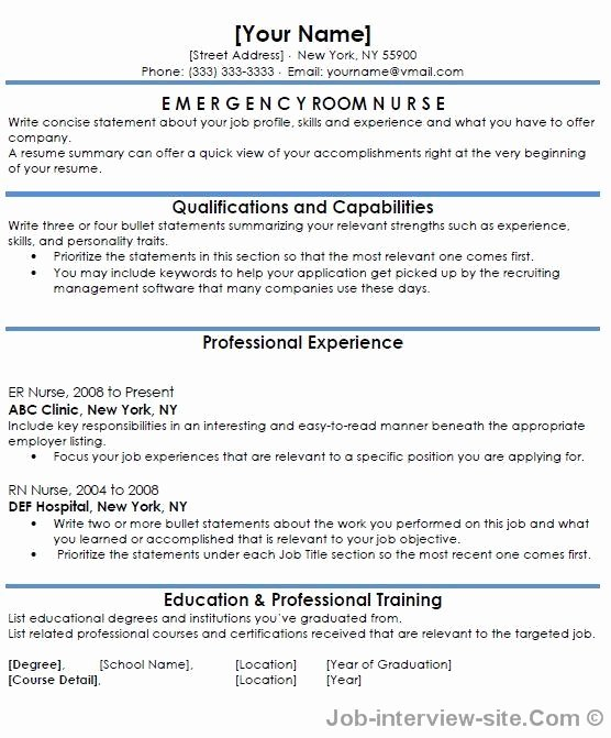 Free 40 top Professional Resume Templates
