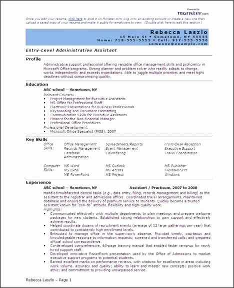 Free 6 Microsoft Word Doc Professional Job Resume and Cv