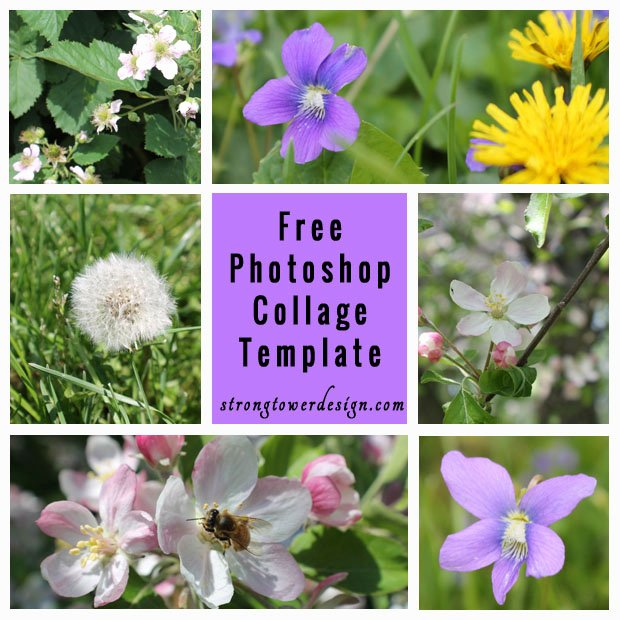 Free 7 Picture Collage Template