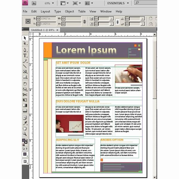 Free Adobe Indesign Templates About Desktop Publishing