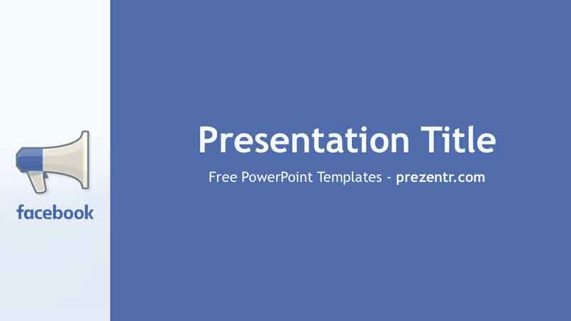 Free Advertising Powerpoint Template Prezentr