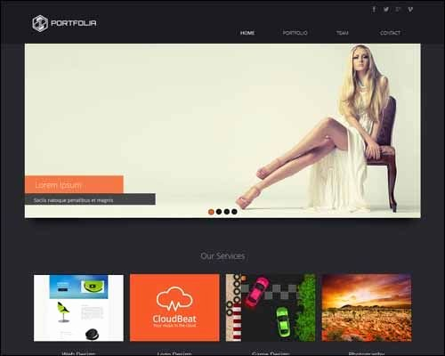 Free and Premium Responsive Adobe Muse Templates