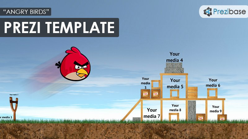 Free Angry Birds Powerpoint Template Angry Birds Prezi