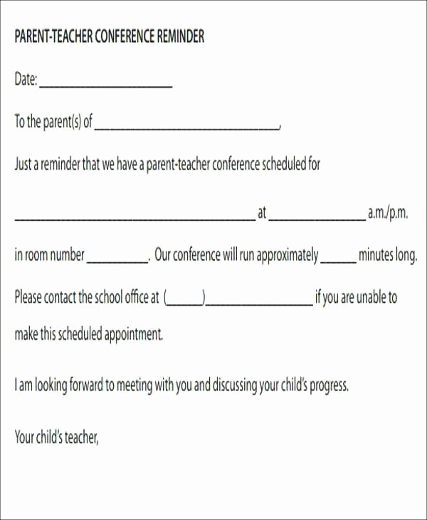 Free Appointment Reminder Template – Golove