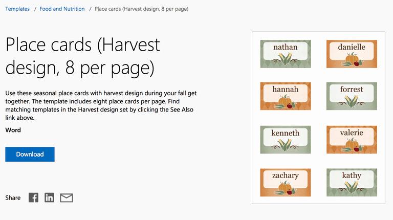 Free Autumn theme Templates for Microsoft Fice