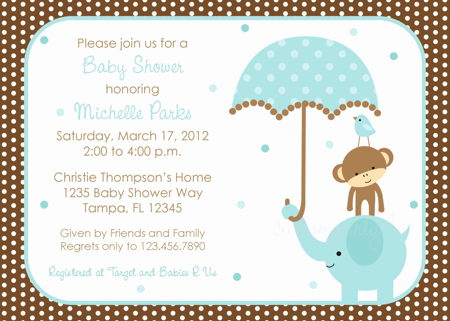 Free Baby Boy Shower Invitations Templates Baby Boy