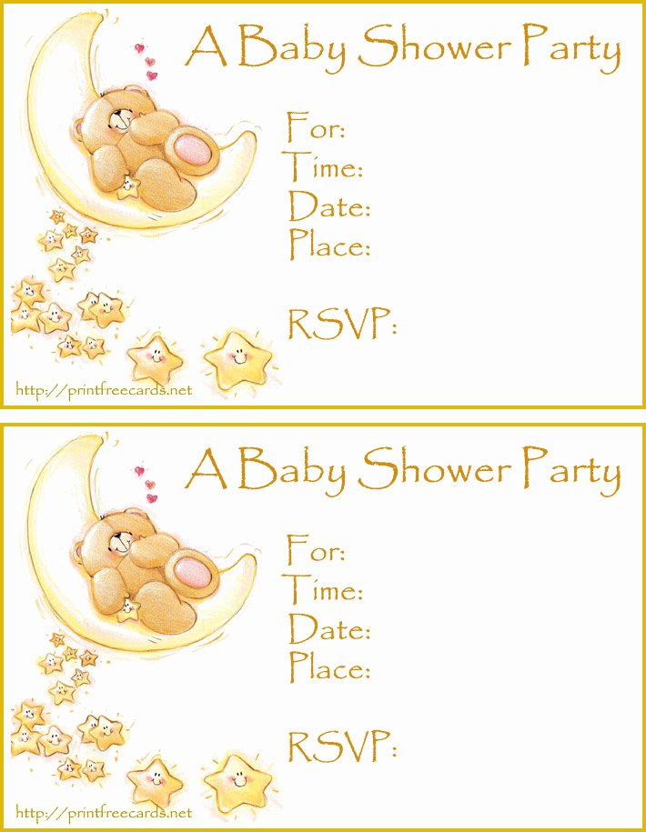 Free Baby Shower Invitations Free Printable Baby Shower