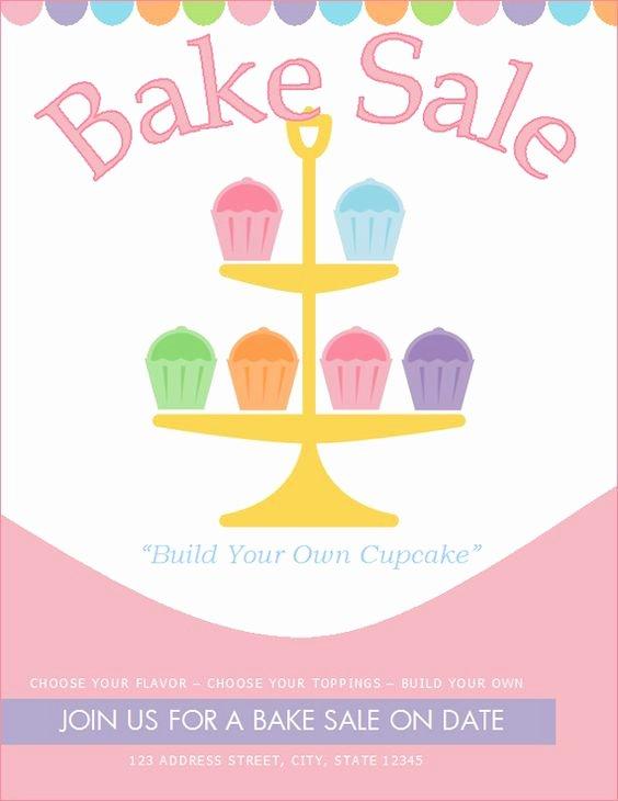 Free Bake Sale Flyer Template