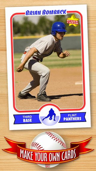 Free Baseball Card Template — Create Personalized Sports