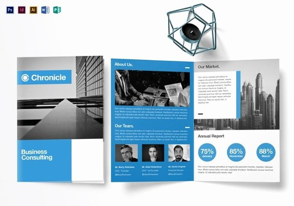 Free Bi Fold Brochure Template Illustrator