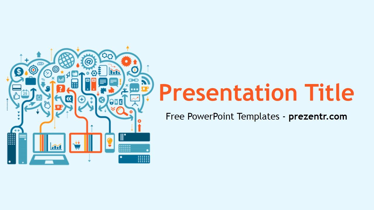 Free Big Data Powerpoint Template Prezentr Powerpoint