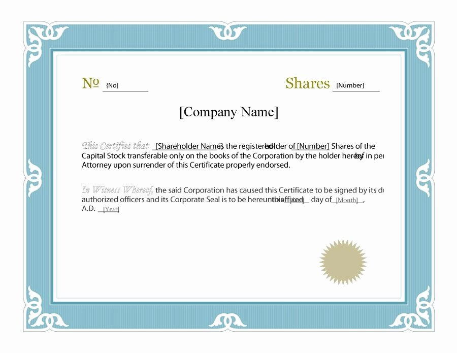 Free Blank Certificate Templates for Word