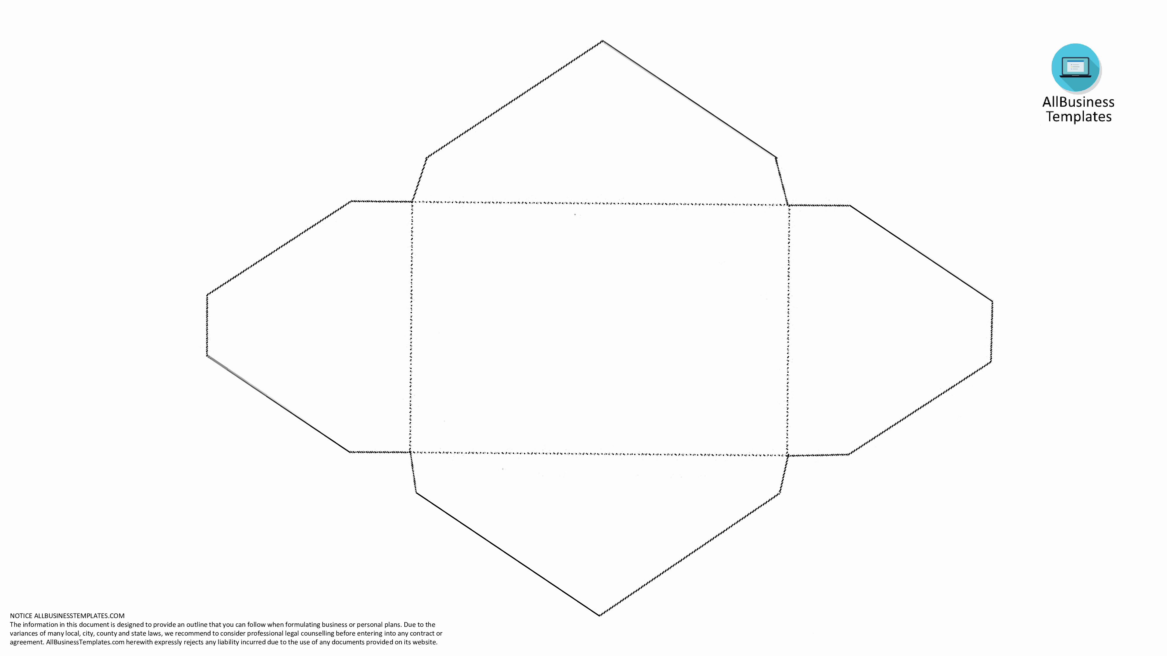 Free Blank Envelope Template