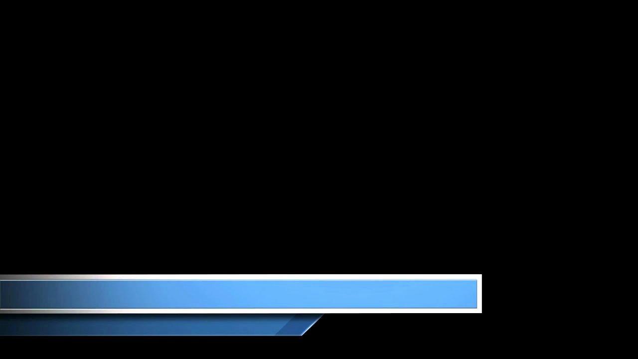Free Blue Lower Third Graphic From Videoblocks