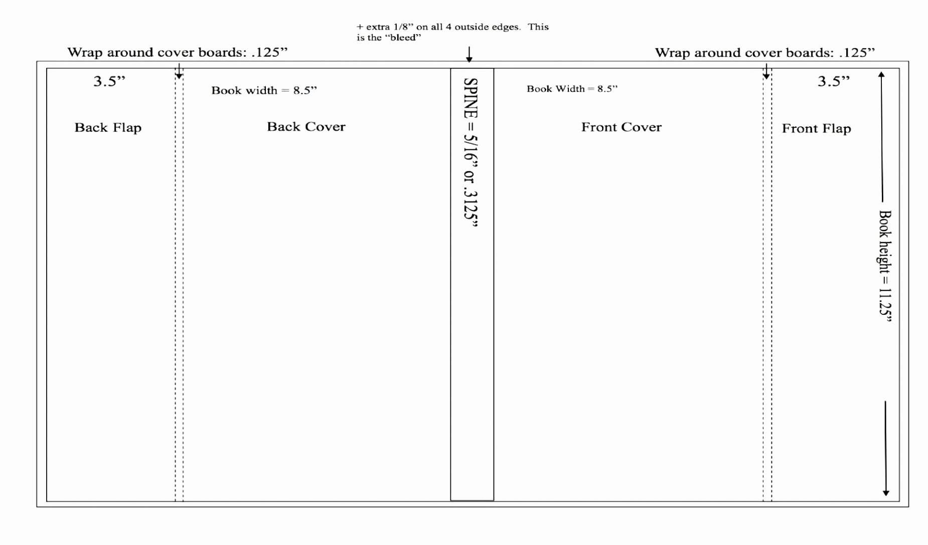 Free Book Cover Design Template Pdf Word