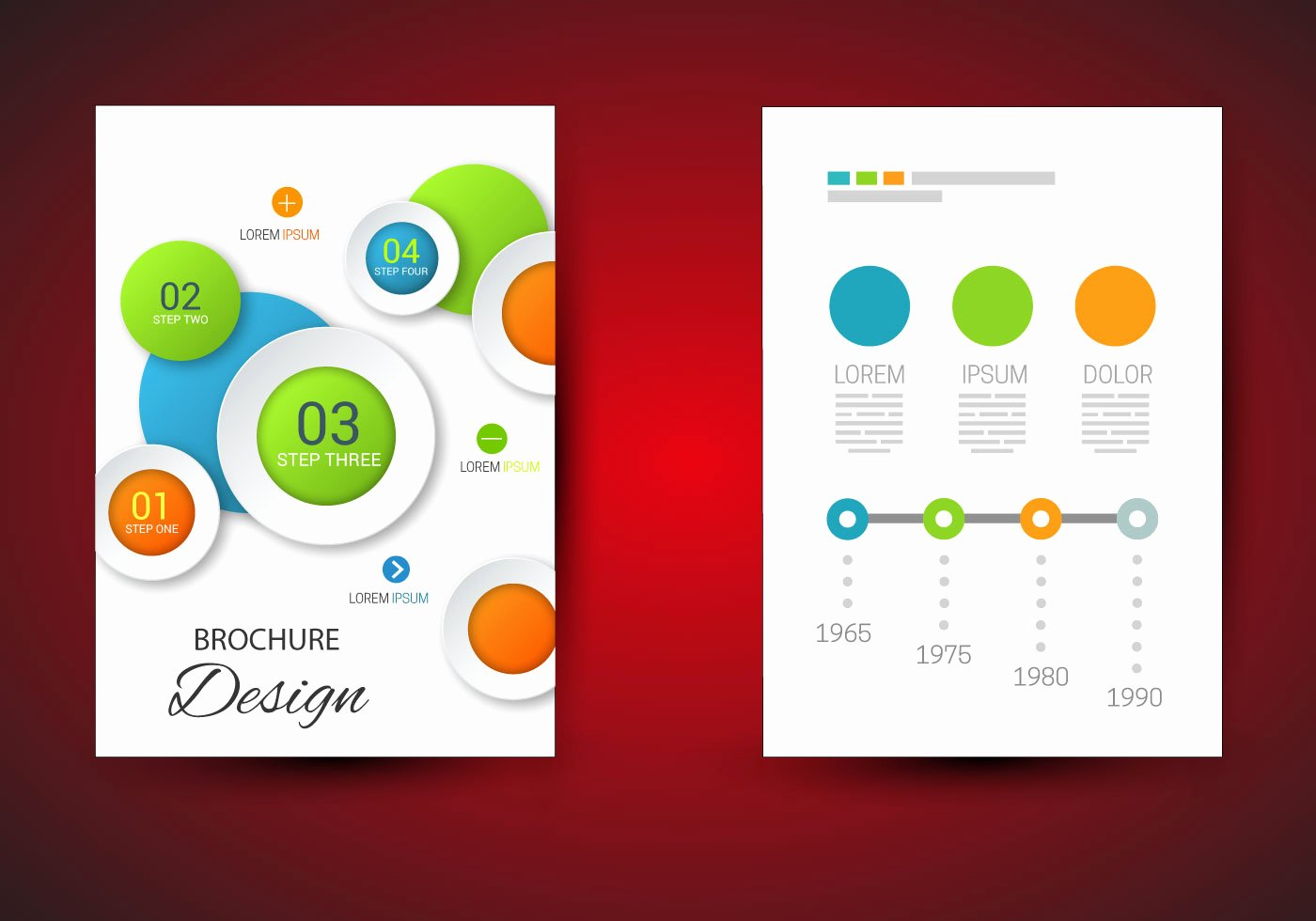 Free Brochure Template Vector Download Free Vector Art