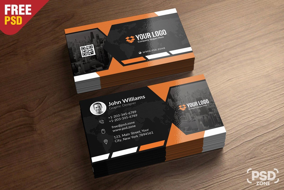 Free Business Card Template Download Download Psd