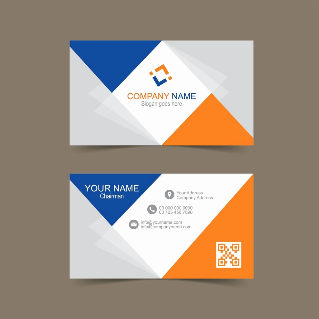 Free Business Card Template In Illustrator Print Ready