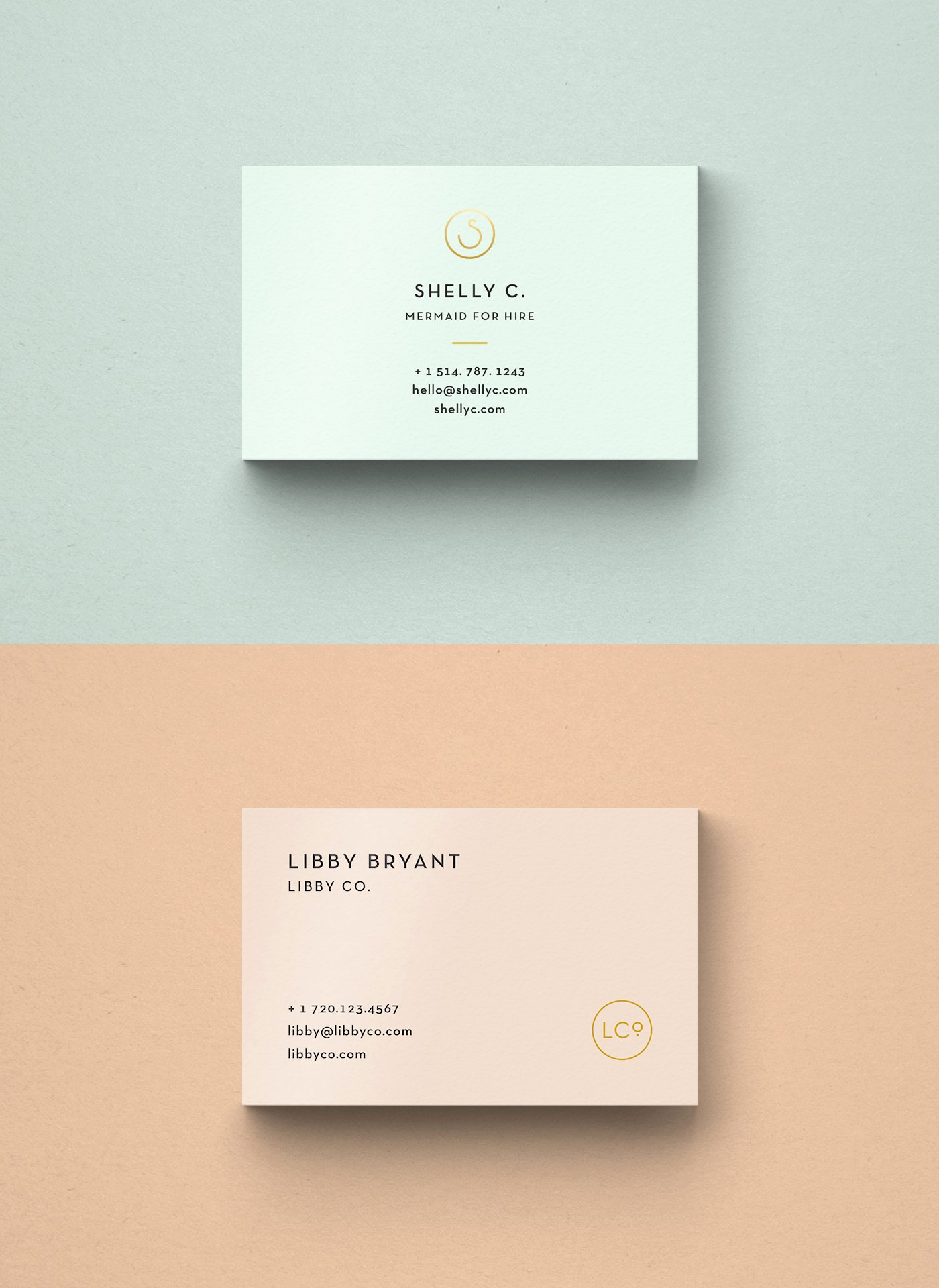 Free Business Card Templates • Libby Co Boutique Branding