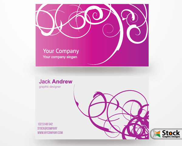 Free Business Card Vector Templates