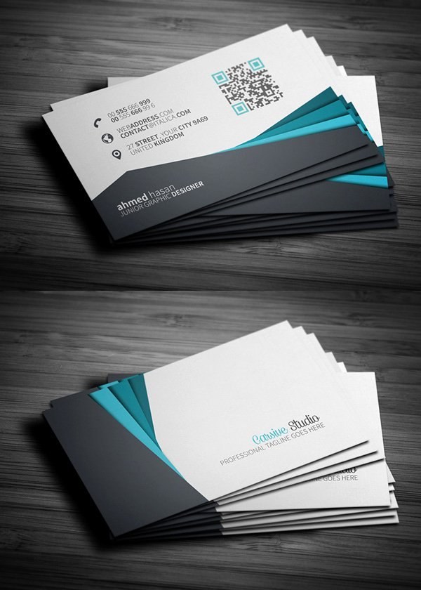free business cards templates mockups