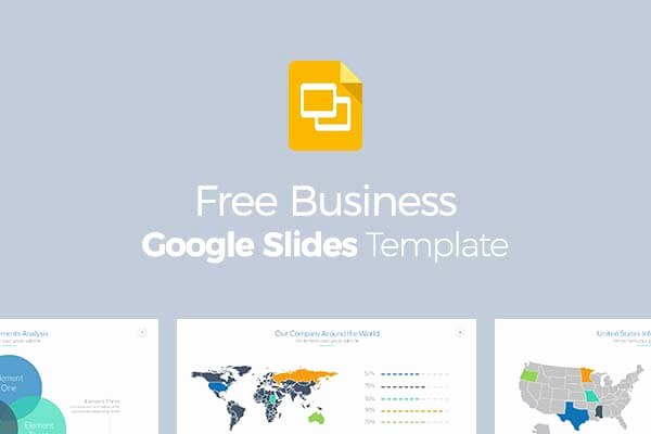 Free Business Google Slides Template Fully Customizable