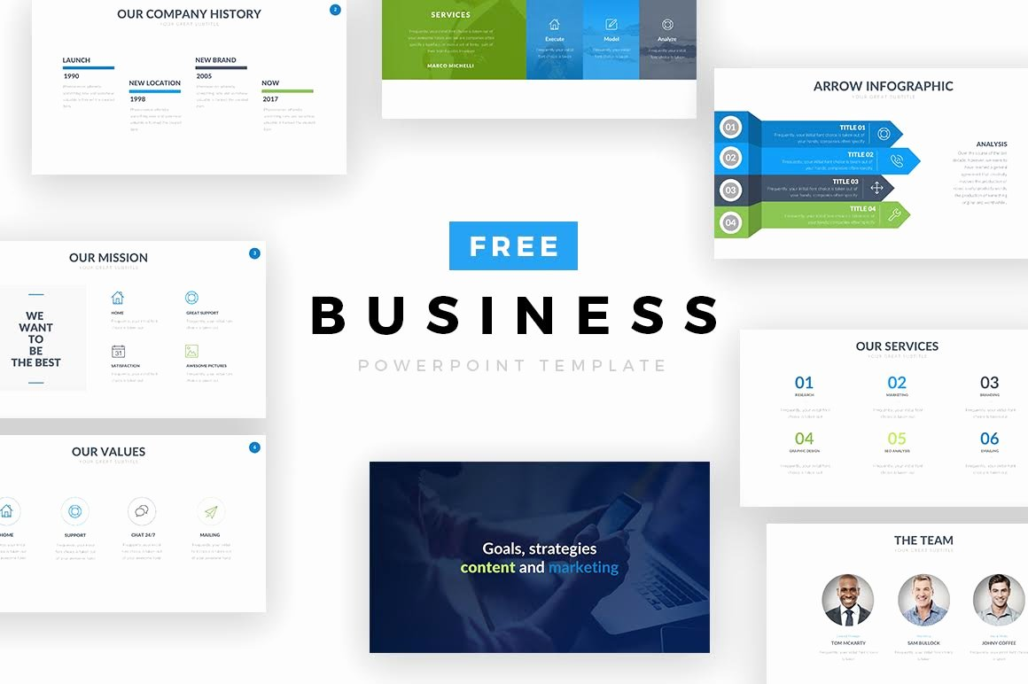 Free Business Powerpoint Template — Free Design Resources