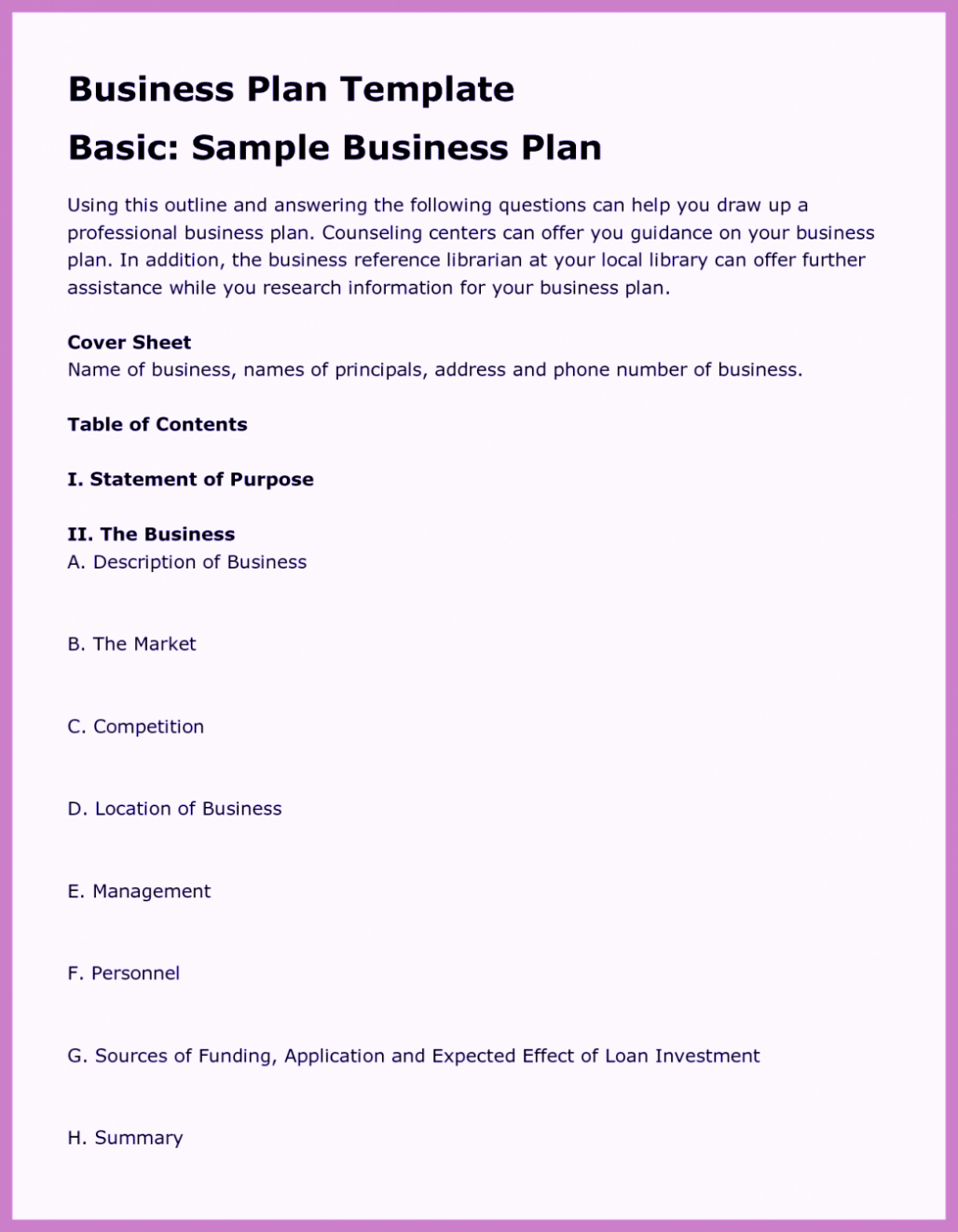 Free Business Proposal Template Word Pdf