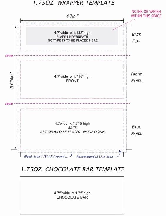 Free Candy Bar Wrapper Template Ednteeza Steve Pinterest