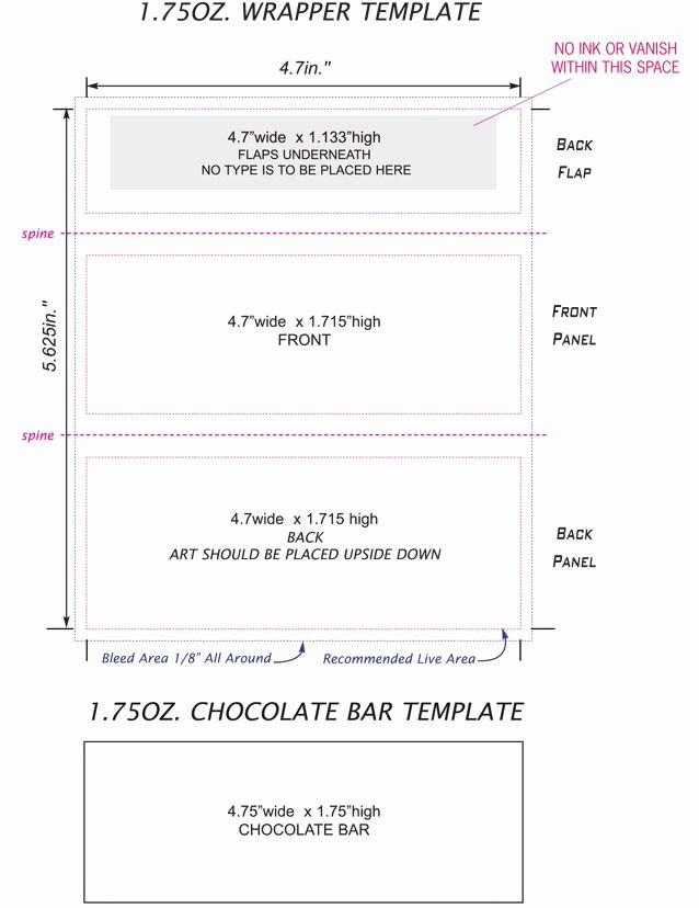 Free Candy Bar Wrapper Template Ednteeza Steve