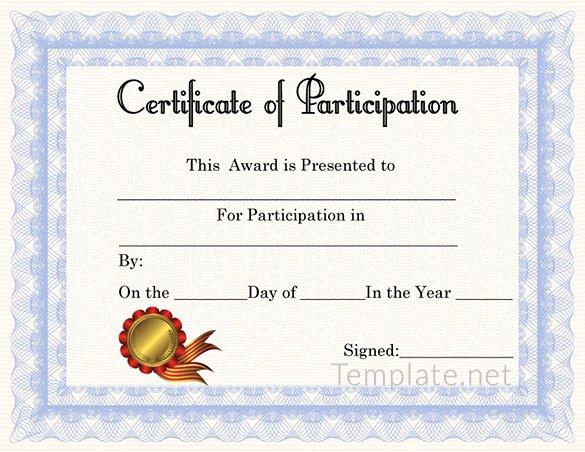 Free Certificate Template – 65 Adobe Illustrator