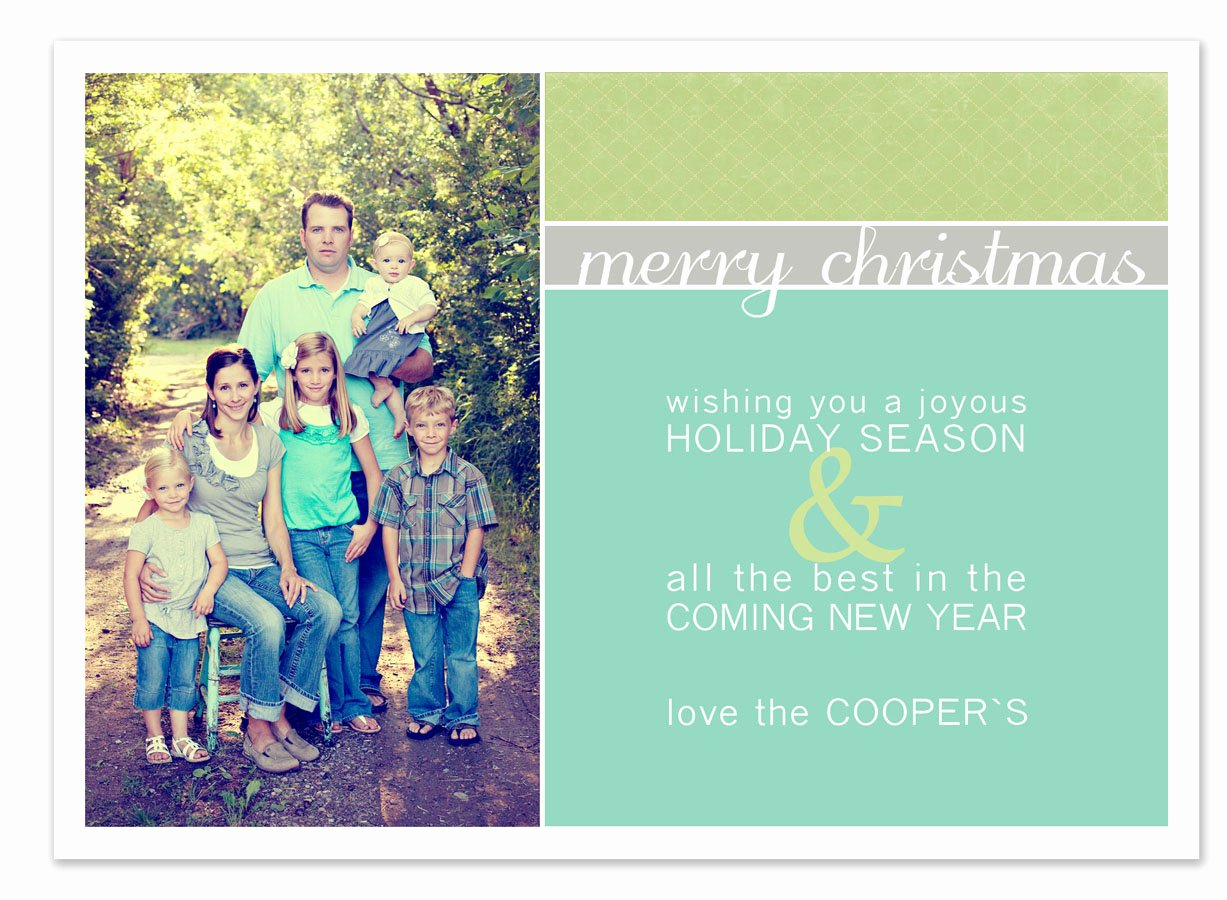 Free Christmas Card Templates