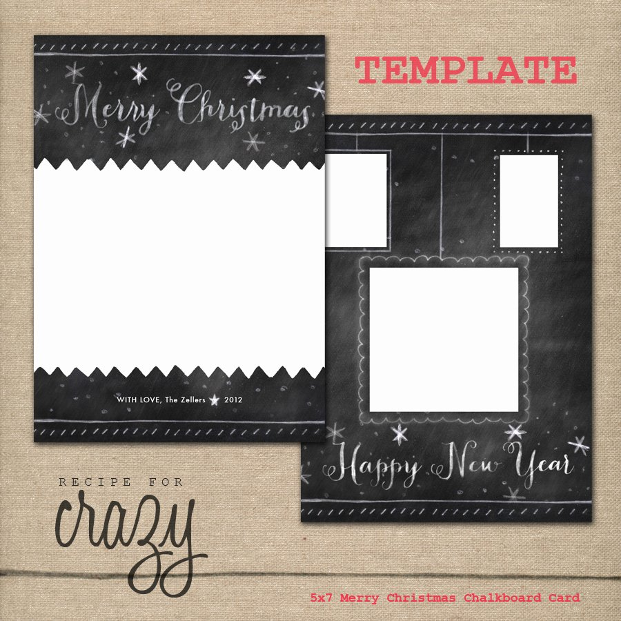 Free Christmas Card Templates for Graphers